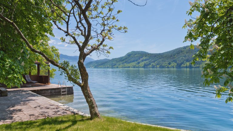 Extraordinary lakeside property